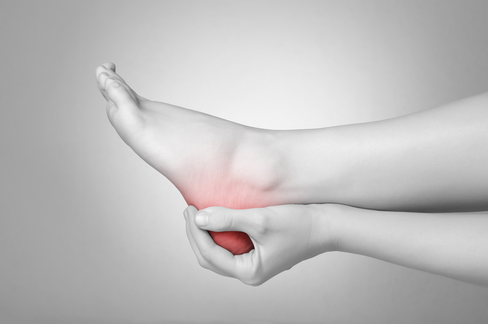 How do podiatrists heal heel pain?