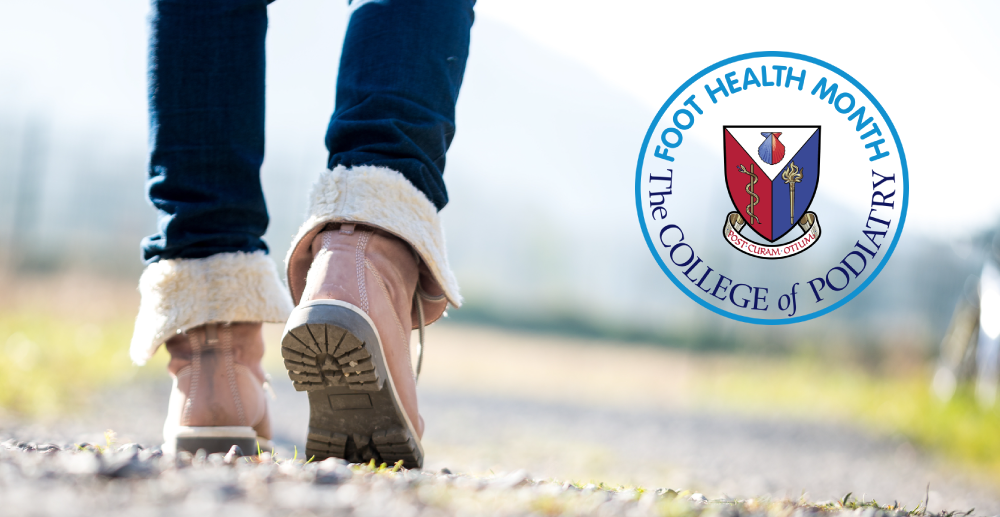 April is Foot Health Month!